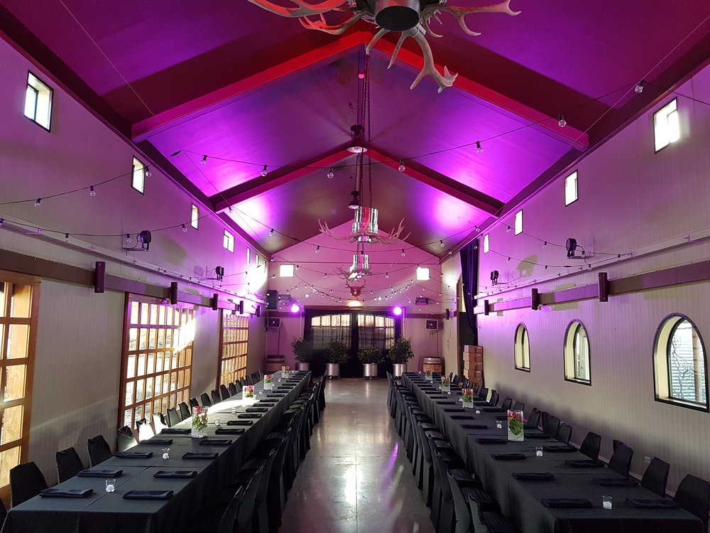 Event Room Setting